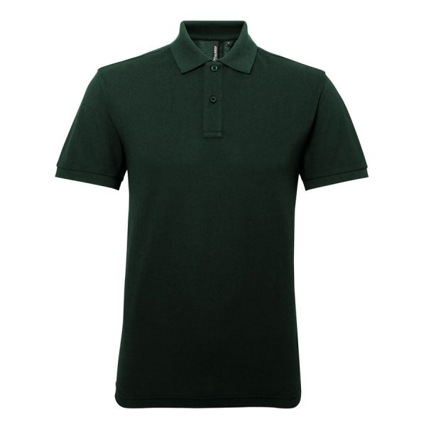 These stylish Men's sport polycotton polo tops can be customised with embroidery or print making these an ideal option for your company workwear, uniform or club gear! These branded polo t-shirts with technical wicking fabric help to regulate your body temperature and keep you feeling fresh!
