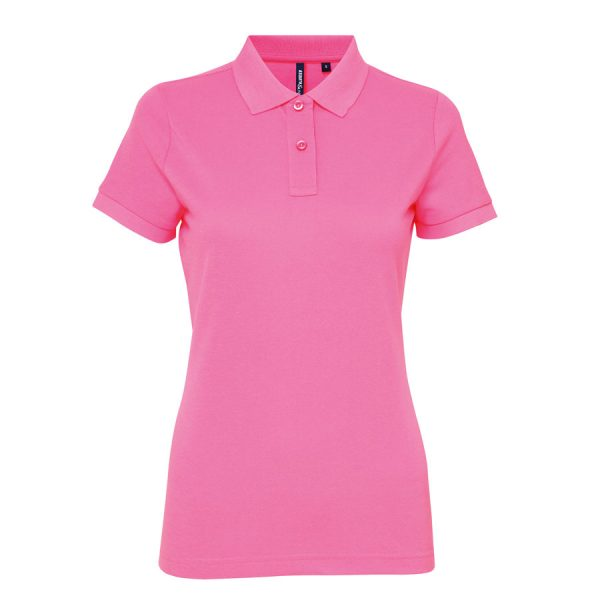 Another great option from our polo t-shirt range with this ladies polycotton blend polo!These ladies classic fit polo can be customised with embroidery or print making these an ideal option for your company workwear, uniform or club gear! These ladies branded cool, dry and stylish polo t-shirts are available in a range of sizes and super stand out colours!