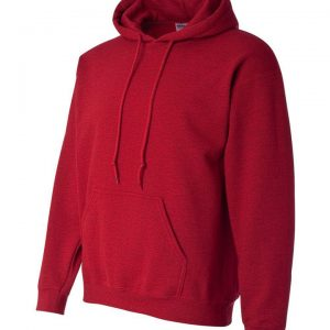 This heavy blend Gildan hoodie comes in a range of sizes and stand out colours to suit your requirements! You choose the colour and we will custom embroider your company logo or brand name! These branded air jet spun yarn hoodies with set in sleeves are an essential addition to your company uniform, corporate workwear or club collection!