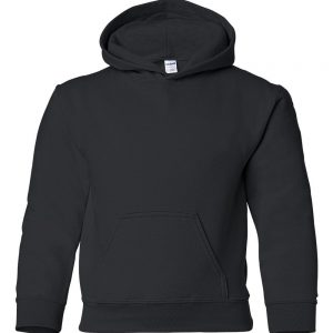 This heavy blend Kids hoodie comes in a range of sizes and stand out colours to suit your requirements! You choose the colour and we will custom embroider your company or club logo or brand name! These branded air jet spun yarn kids hoodies with set in sleeves are an essential addition to your club or company collection!