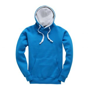 This premium contrast hoodie from Cotton Ridge comes in a great range of sizes and stand out contrast colours to suit your requirements! You choose the colour and we will custom embroider your company company logo or brand name! These branded premium contrast hoodies with heavyweight soft feel fabric are an essential addition to your company uniform, corporate workwear or club gear collection!