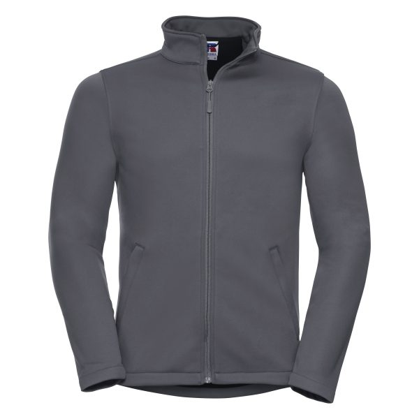 This softshell and fleece hybrid with five star breathability and smart appearance is ideal for but not exclusively, the indoor workplace (supermarkets and airports). We can custom embroider your brand name or company logo onto these smart two layer bonded softshells. These branded breathable jackets are a great option for your corporate workwear or company uniform collection!
