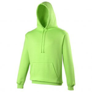 This vibrant eye catching coloured hoodie is available in a range of sizes and the following electric colours- green, orange, pink and yellow!  You choose the colour and we will custom embroider your brand name, club or company logo onto these hoodies! These branded electric coloured hoodies are a must for inclusion in your corporate workwear range, club gear or company uniform!