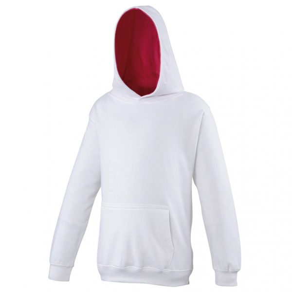 These kids varsity hoodies are a super option for your kids branded hoodie collection! Available in a range of colours and sizes with the added feature of the kangaroo pouch pocket. These kids branded soft cotton hoodies custom embroidered with your brand name, club or company logo are a must for your company or club collection!