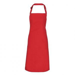 embroidered apron with your logo in a huge range of colours