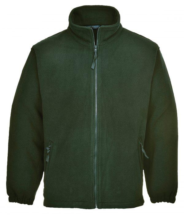 customised branded embroidered warm fleece