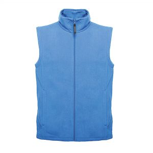 This Regatta unlined microfleece Bodywarmer is available in a range of colours to suit your business! You choose the colour and we will custom embroider your company logo or brand name! This branded full length zipped regatta bodywarmer with two front zip pockets is a great option for your corporate workwear or company uniform collection!