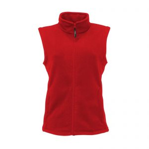 This ladies Regatta unlined microfleece Bodywarmer is available in a range of colours to suit your business! You choose the colour and we will custom embroider your company logo or name. This branded shaped fit regatta bodywarmer with full length zip and two front zip pockets is a great option for your corporate workwear or company uniform collection!