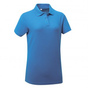 These ladies economy pro polo tops have a feminine and comfortable fit and can be customised with embroidery or print making these an ideal option for your company workwear, uniform or club gear! These self taped branded polo t-shirts are available in a wider size range and colours to suit your work team!