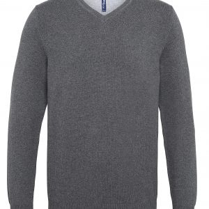 This Mens Cotton Blend V- Neck Sweater is a great everyday sweater for men, available in a great range of colours. The popular v-neck style allows for a shirt and tie to be visible underneath or can be worn without for a casual look. We will custom embroider your company logo or brand name, making these branded mens classic comfortable pullover a great option for your corporate workwear,club or company uniform collection!