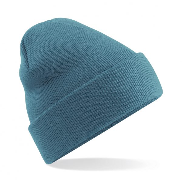 This original double layered knit cuffed design beanie comes in a super range of colours including fluorescent green, orange, pink and yellow. With your company logo or name custom embroidered on the front, these branded coloured cuffed beanies make for an ideal addition to your company workwear / uniform or club gear collection this Autumn/Winter!