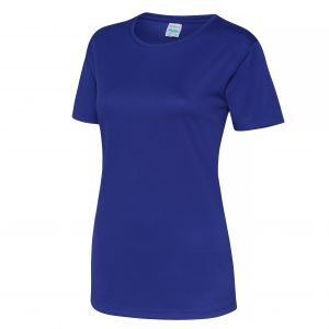 This girlie fit t-shirt with quick drying properties is another great option for your customised teamwear clothing. Available in a range of sizes and stand out electric colours, this ladies printed tee is a must for your branded company workwear or club gear collection!