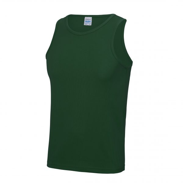 Are you looking for customised running tops for your club, team or corporation? These sporty fit curved wicking vest are available in a range of sizes and super stand out electric colours! These branded performance vests are a great option for your team running vest collection!