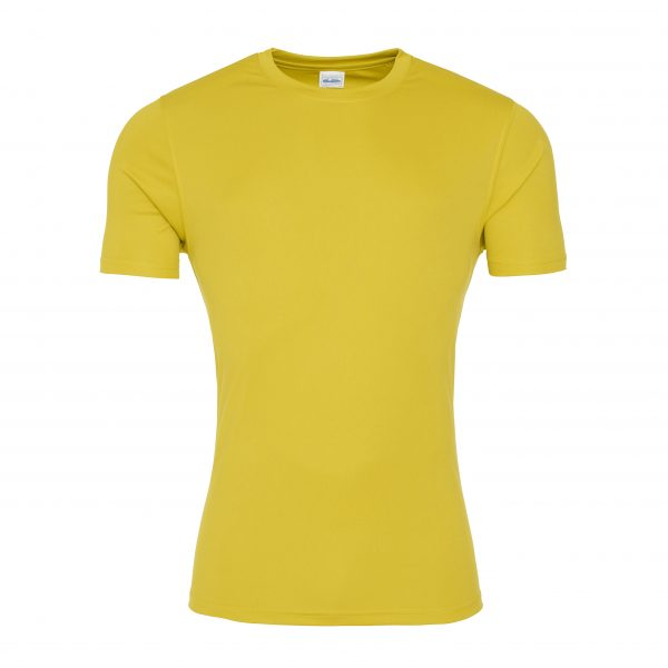 These sports T-Shirts are available in a range of great colours and sizes and can be customised with your brand name or club or company logo. A sporty fit with a clean finish these are designed to keep you cool, comfortable and dry, making these printed sports tees an essential item for your workout wardrobe.