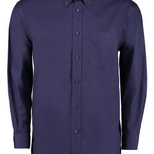 This men's long sleeve corporate oxford shirt is available in a great range of stand out colours and sizes. You choose the colour and we will custom embroider your brand name or company logo. These long sleeve corporate oxford shirts are a smart addition to your corporate workwear or company uniform collection!
