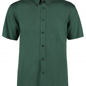 These men's short sleeve corporate easy iron oxford shirt is available in a great range of super colours and sizes. You choose the colour and we will custom embroider your brand name or company logo. These branded short sleeve work shirts are a smart addition to your corporate workwear or company uniform collection!