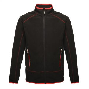 This Regatta Ashmore full zip, quick-drying fleece jacket is available in a number of sizes and alternative colours. Whatever your business or industry sector this is an ideal fleece jacket for your corporate workwear or company uniform. We will custom embroider your company logo or brand name onto these coloured fleece jackets ensuring that your branded fleece stands out from your competitors!