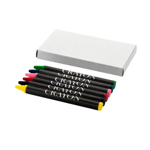 crayons, printed with your brand name or company logo