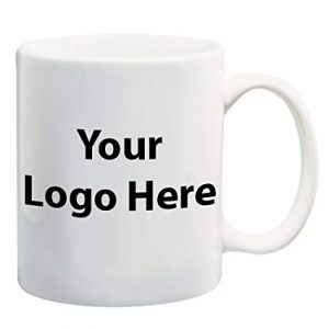 printed promotional mug with your logo