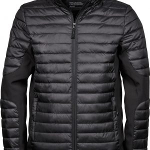 Stylish high end double cross over branded jacket