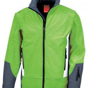 Fashionable active cut 3 colour branded jacket