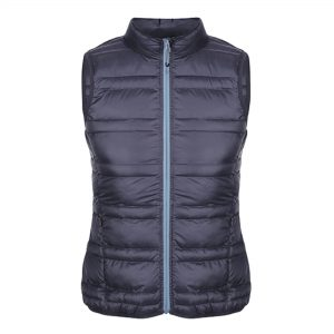Ladies stylish lightweight bodywarmer customised with your brand name or company logo.